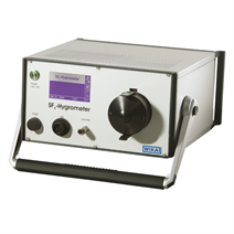 Analysis instrument for determining the gas humidity in SF<sub>6</sub> gas